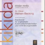 Dr. med. Clivia Heinen-Becking Hypnose Ausbildung Zertifikat