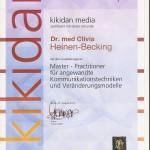 Hypnose Saarland NLP Master Practitioner Dr. Clivia Heinen-Becking