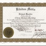 NLP Zertifikat Richard Bandler 2 Hypnose Saarlouis